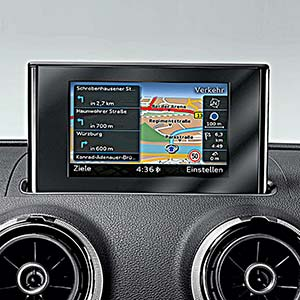 Audi A3 8V con sistema radio RMC