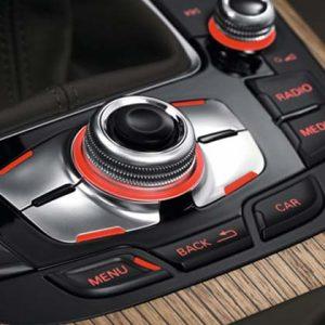 Rueda de control del Audi A4 B8 MMI High