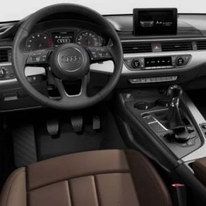 Audi A4 B9 con MMI Basic sin Virtual Cockpit