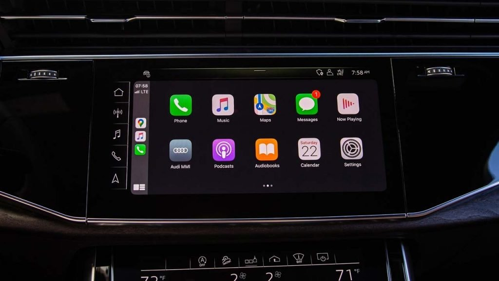 CarPlay inalámbrico en Audi Q7