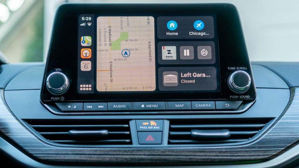 Nueva interfaz de CarPlay en iOS 13