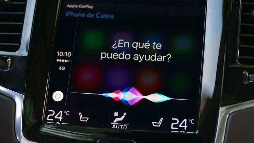 Siri funcionando en un Volvo