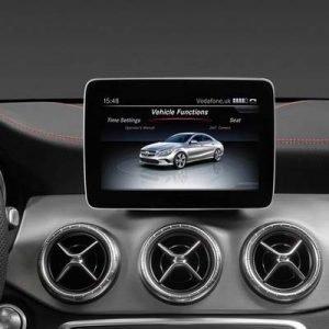 Mercedes Clase A W176 con NTG 5.5, pantalla