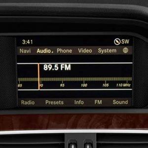 Mercedes Clase C W204 con NTG 4.5, pantalla