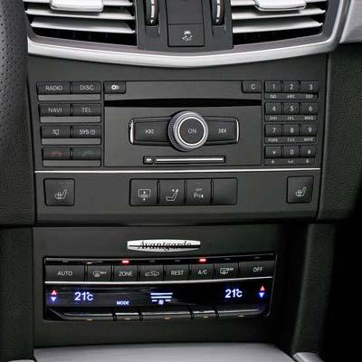 Mercedes Clase E W212 con NTG 4, unidad de control