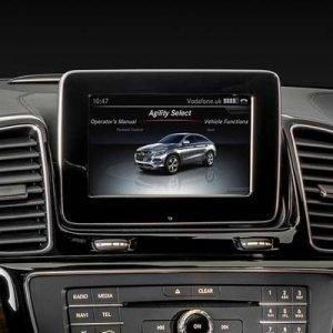 Mercedes GLE W166 con NTG 5.5, pantalla