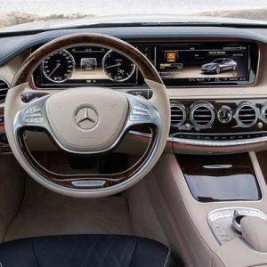 Mercedes Clase S W222 con NTG 5.5 y pantalla
