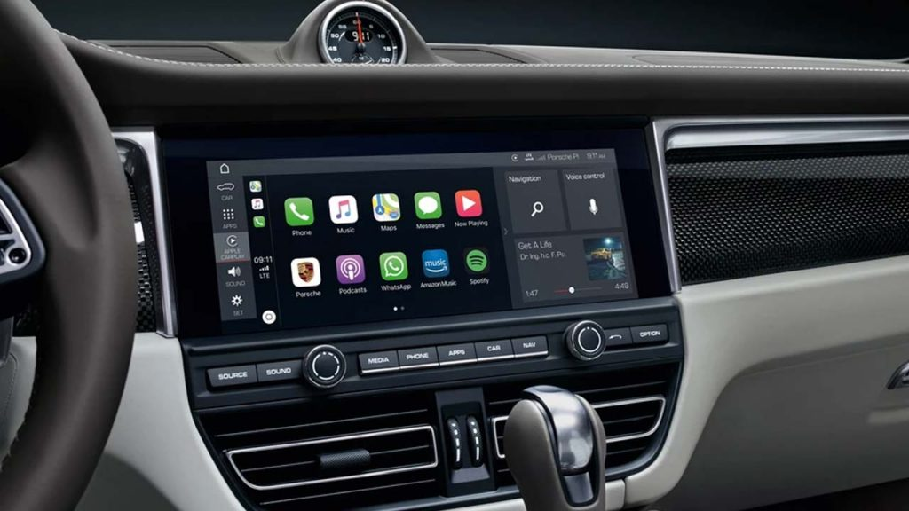 CarPlay Wireless en el Porsche Macan