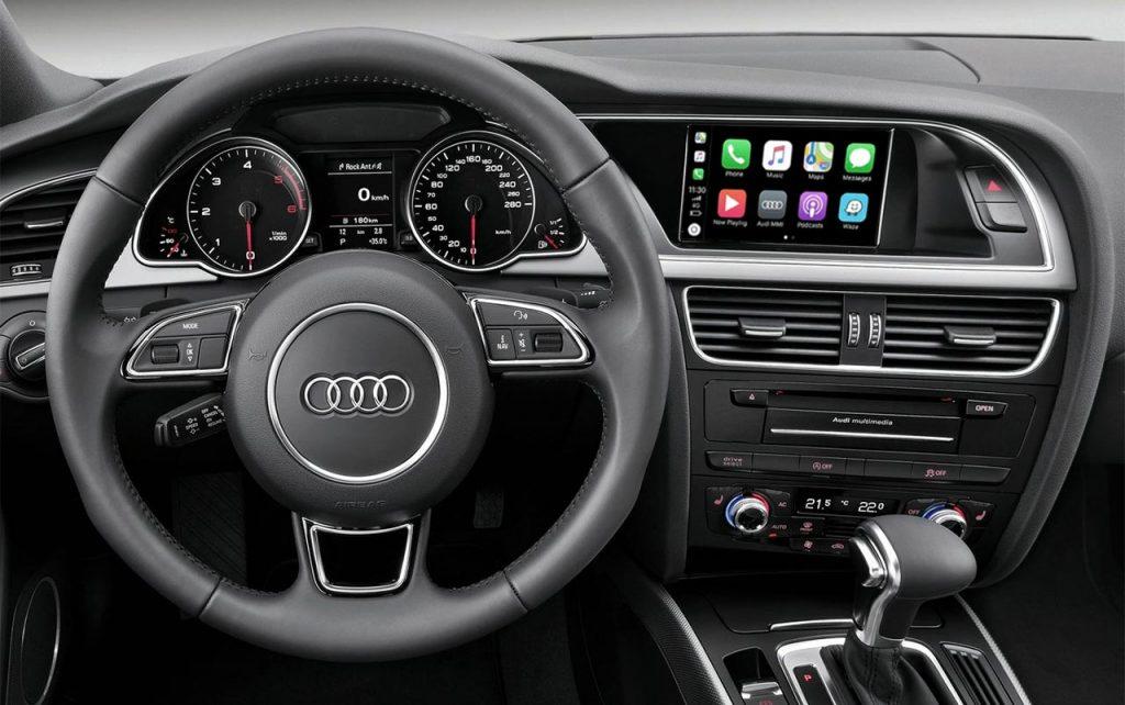 CarPlay en Audi A4 B8