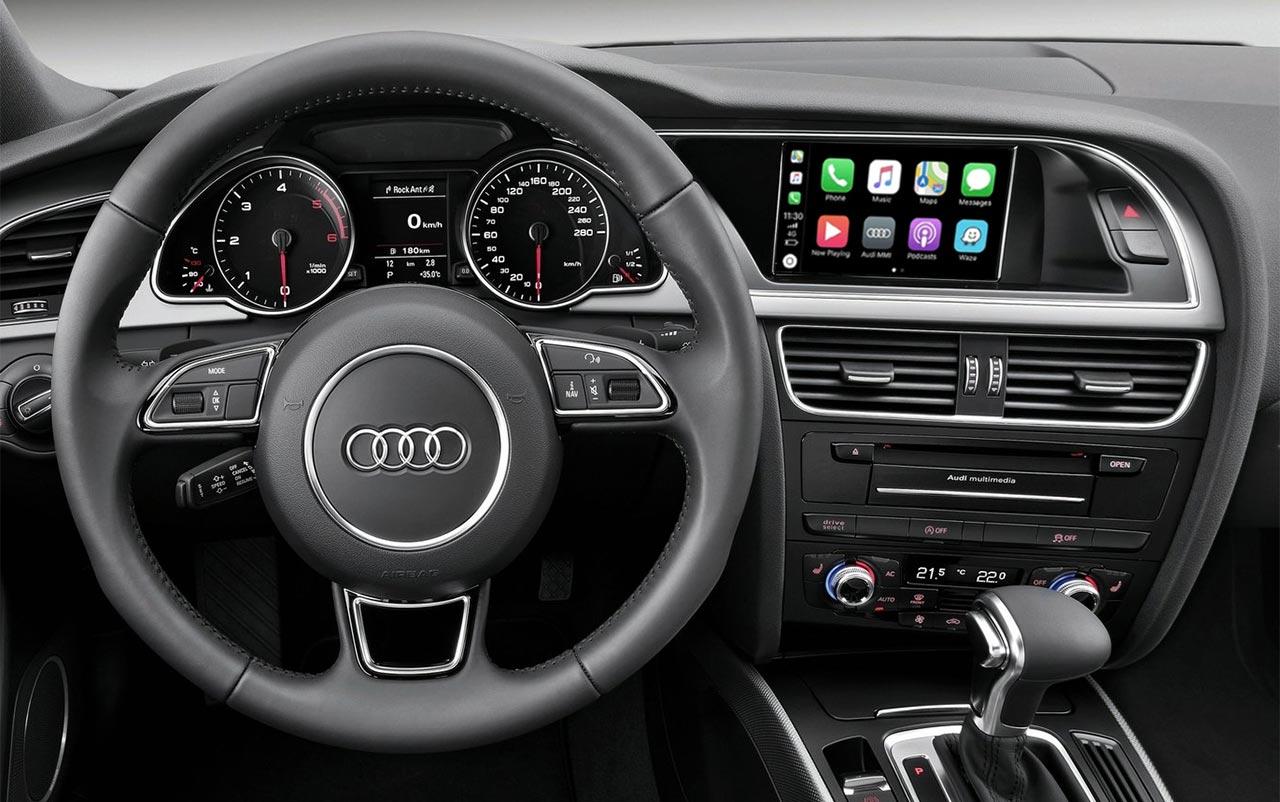 CarPlay y radios Android para Audi A4 B8 y A5 8T, modelos válidos