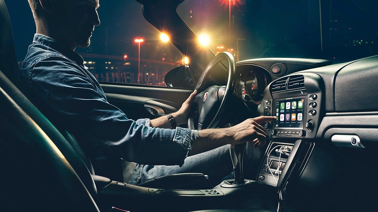 CarPlay en tu Porsche antiguo, ahora puedes instalar estas nuevas radios
