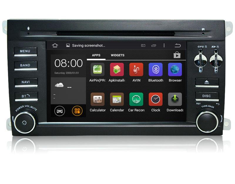 Radio Android para Porsche Caryene