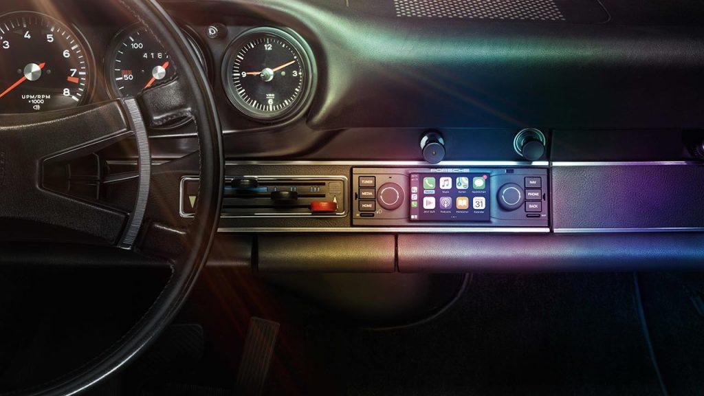 Radio con CarPlay oficial para Porsche clásico
