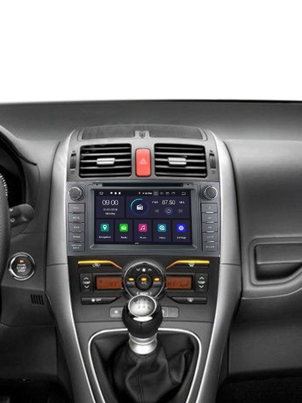Radio Android para Toyota Auris 2008-2012
