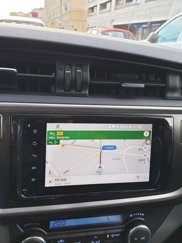Radio Android para Toyota Auris 2012-2018