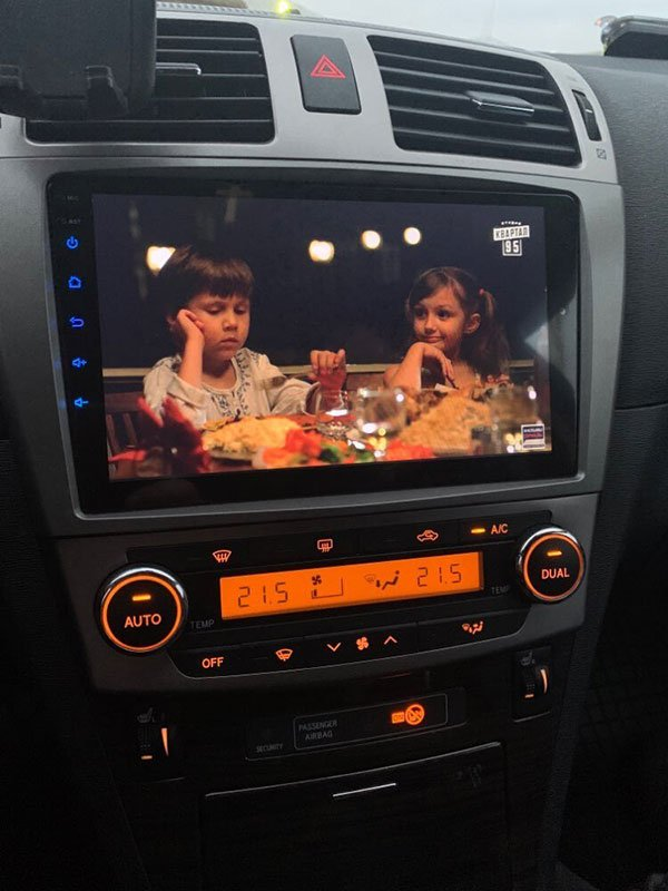Radio Android para Toyota Avensis