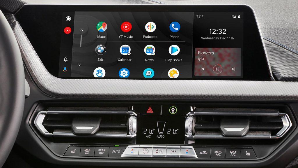 Android Auto en BMW