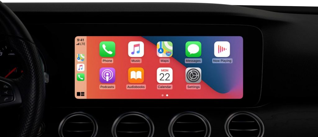 Apple CarPlay funcionando en iOS 14