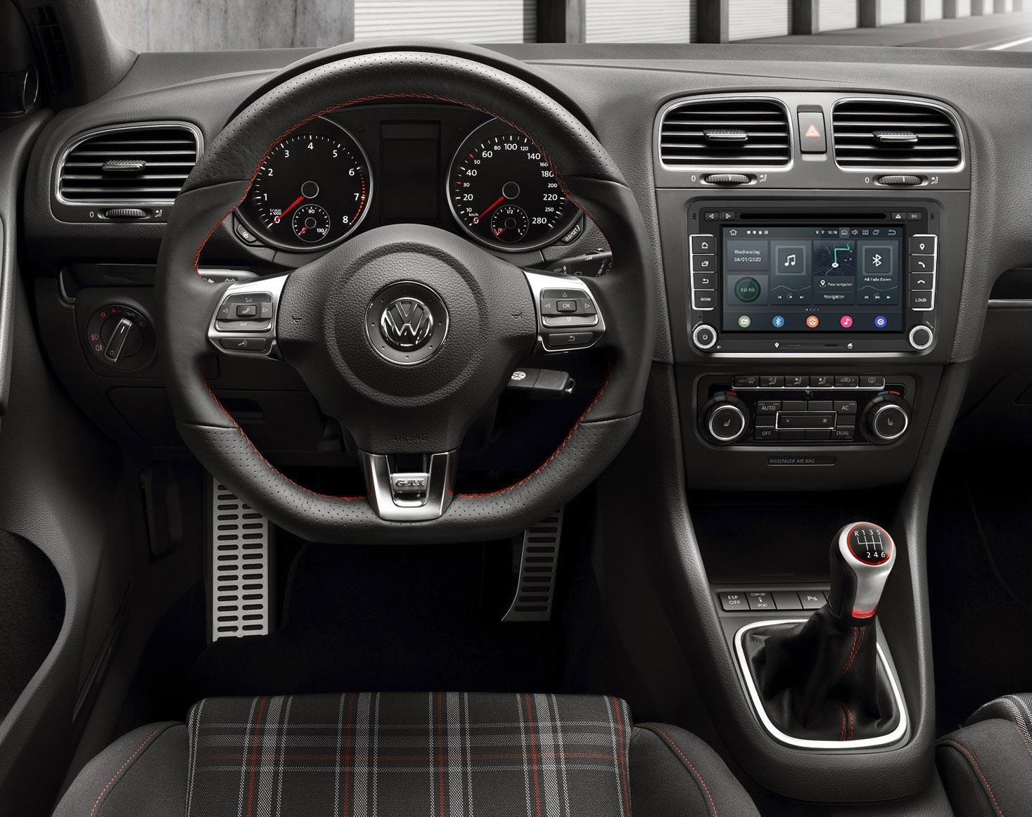 Radio Android para Volkswagen Golf 5, 6 y 7