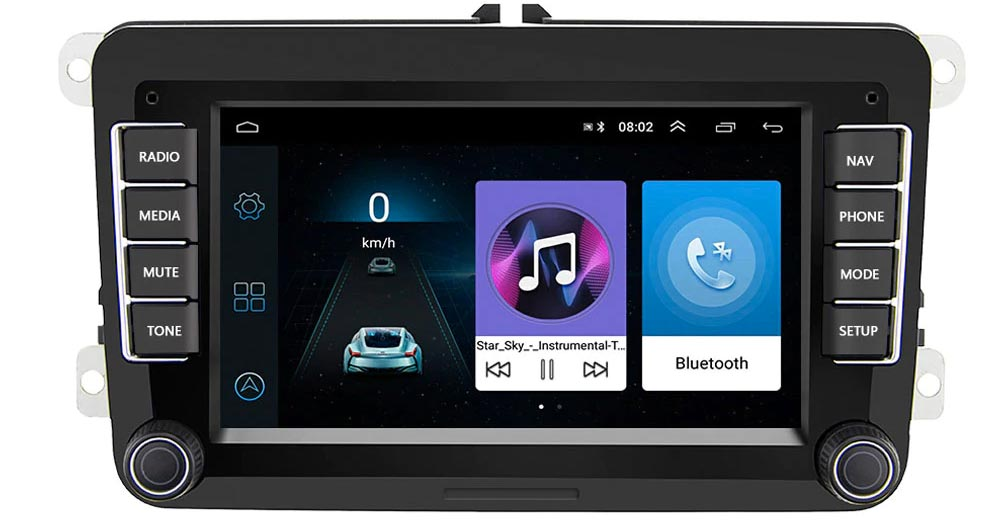 Radio Android VW Touran