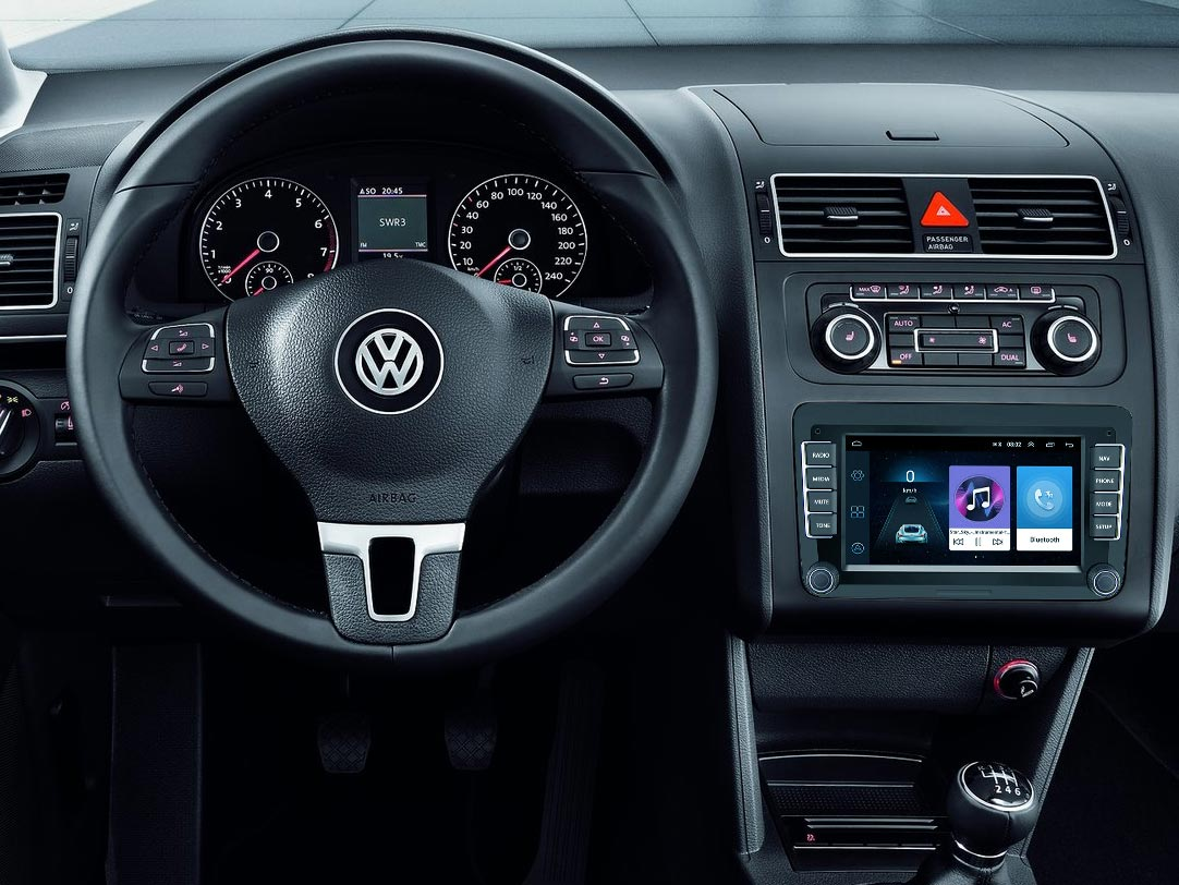 Radio Android para Volkswagen Touran
