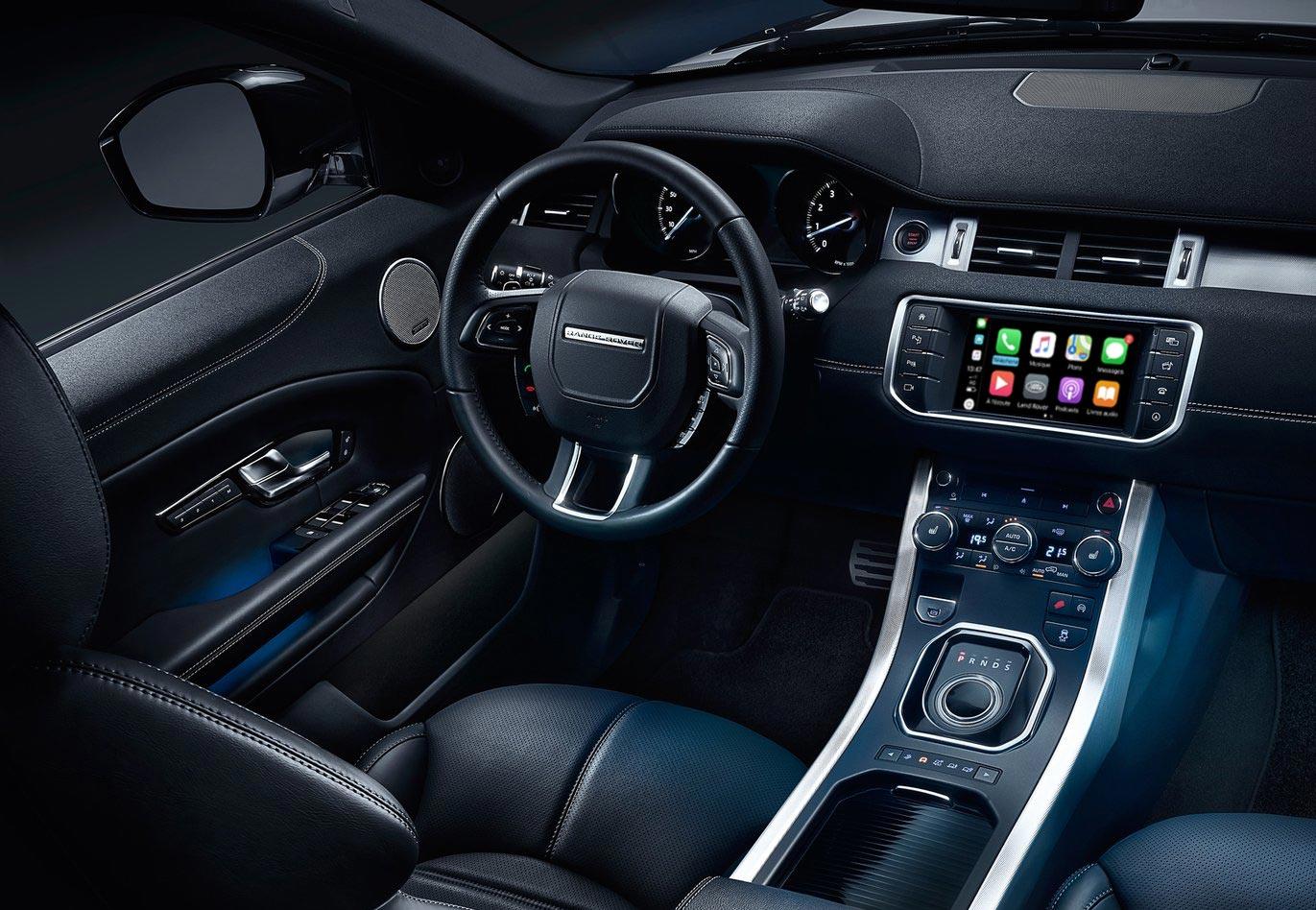 CarPlay para Range Rover Evoque, modelos válidos y radios Android
