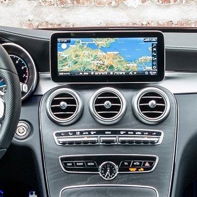 Mercedes Clase C W205 restyling con NTG 5.5