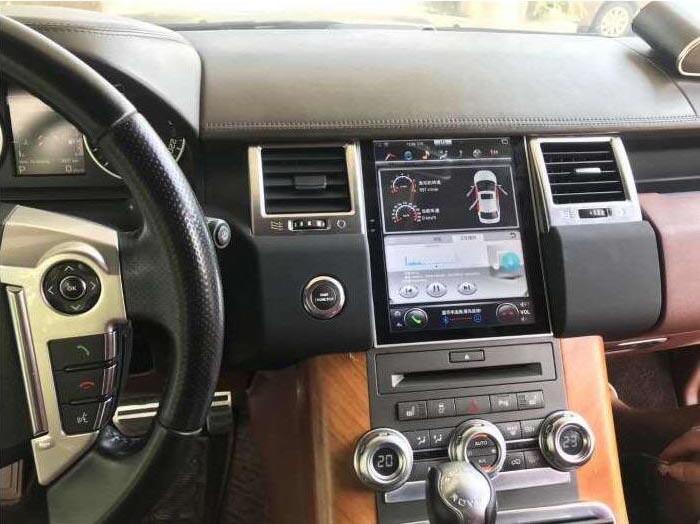 Pantalla Android tipo Tesla en Range Rover L320