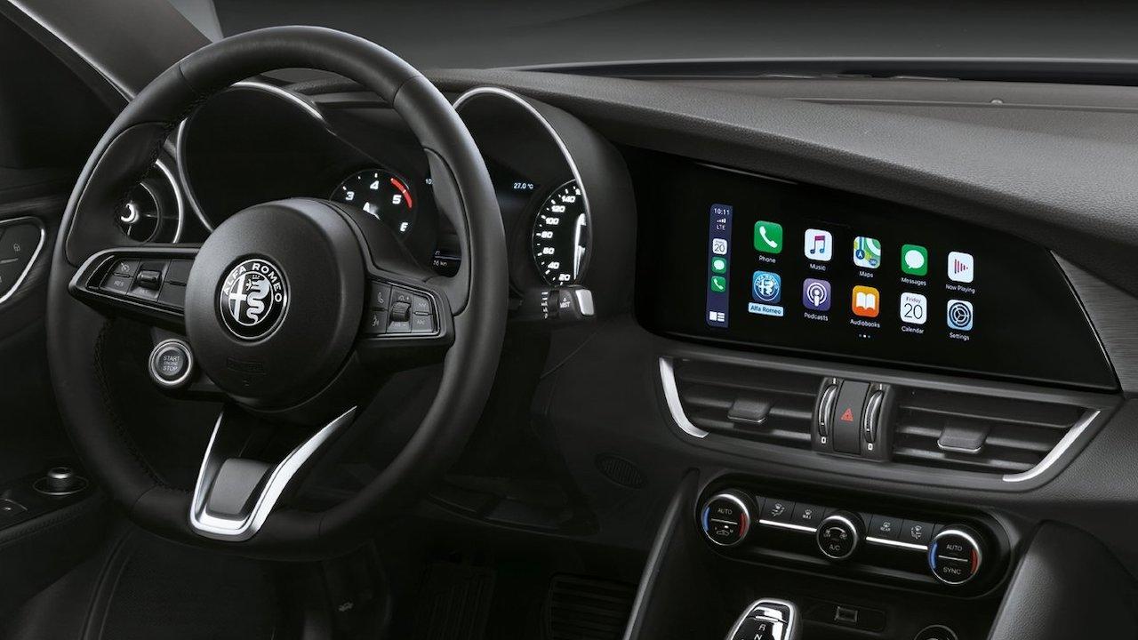 Cómo poner CarPlay en Alfa Giulia y Alfa Stelvio, modelos compatibles y pantallas Android disponibles