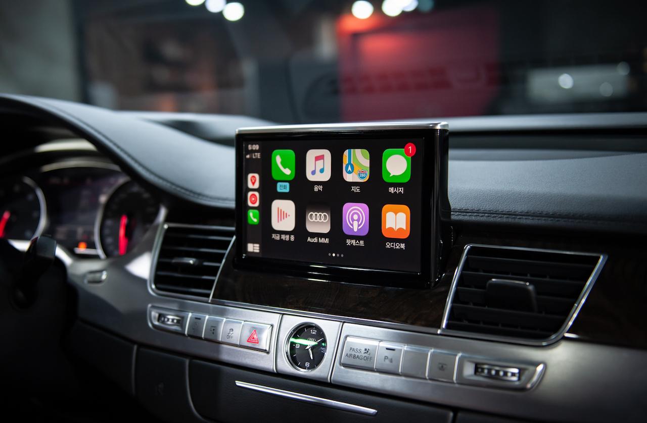 CarPlay para Audi A8 D4, modelos válidos