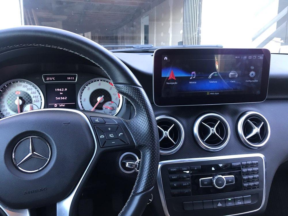 Como poner CarPlay en Mercedes Clase A W176, CLA C117 y GLA X156, modelos compatibles y pantallas Android disponibles